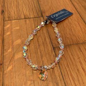 Crystale Swarovski beads bracelet